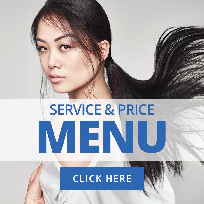 Price Menu - Blue Hairdressing