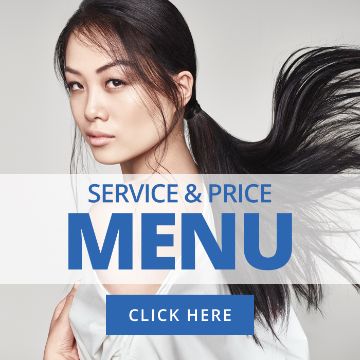 Price Menu - Blue Hairdressing